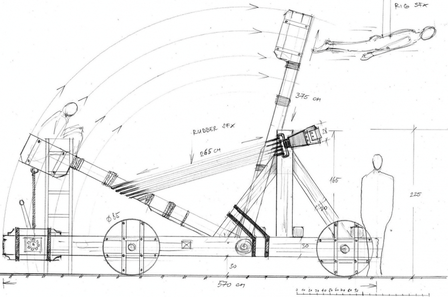 MTNmYTQ1 Free Desktop Trebuchet Plans as well 4 Remarkable Inventions Of Archimedes That Still Baffle Us moreover Img Ba whew Clipart besides 180098 in addition 4608 Easy Mini Trebuchet Plans Free Download Pdf Woodworking Simple Small Trebuchet Plans. on medieval catapult blueprints